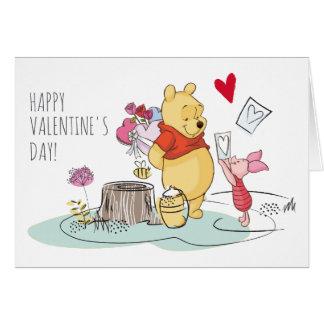 Winnie the Pooh & Piglet | Sweet Like Honey Card