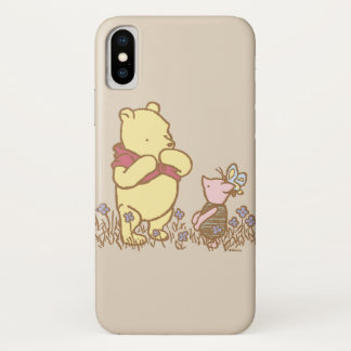 Winnie the Pooh | Pooh and Piglet in Field Classic iPhone X Case