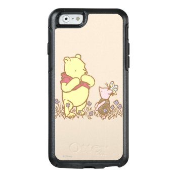 Winnie The Pooh | Pooh And Piglet In Field Classic Otterbox Iphone 6/6s Case by winniethepooh at Zazzle