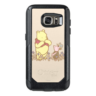 Winnie the Pooh | Pooh and Piglet in Field Classic OtterBox Samsung Galaxy S7 Case