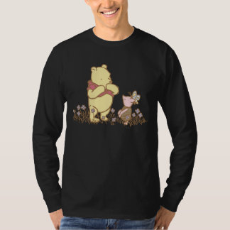 Winnie the Pooh | Pooh and Piglet in Field Classic T-Shirt
