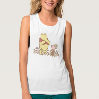Winnie the Pooh | Pooh and Piglet in Field Classic Tank Top