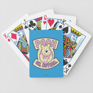 Winnie The Pooh | Pooh Oh Bother Bicycle Playing Cards