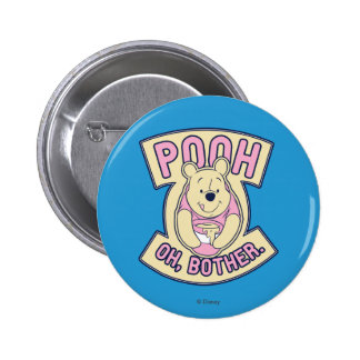 Winnie The Pooh | Pooh Oh Bother Pinback Button