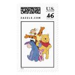 Winnie the Pooh Pooh Piglet Tigger Eeyore Stamps