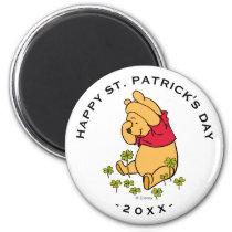 Winnie the Pooh - Shamrock | St. Patrick's Day Magnet