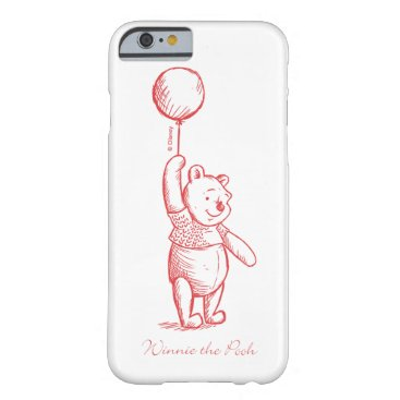 Winnie the Pooh Sketch Barely There iPhone 6 Case