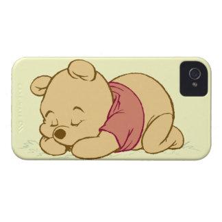 Winnie the Pooh Sleeping iPhone 4 Case-Mate Case