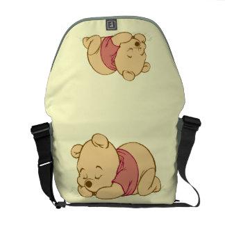 Winnie the Pooh Sleeping Messenger Bag