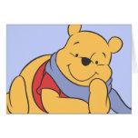Winnie the Pooh Tarjeta De Felicitación