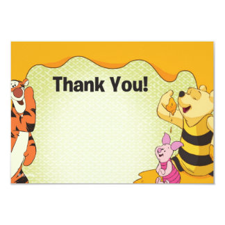 Winnie the Pooh Thank You Cards Invitations