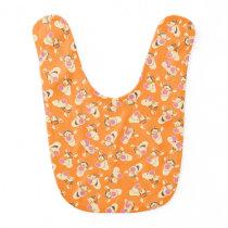 Winnie the Pooh | Tigger Faces Pattern Baby Bib