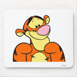 Winnie The Pooh Tigger Looking Happy Mouse Pad