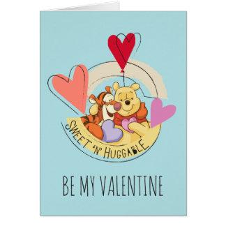 Winnie the Pooh & Tigger | Sweet 'N' Huggable Card