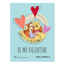 Winnie the Pooh & Tigger | Sweet 'N' Huggable Postcard