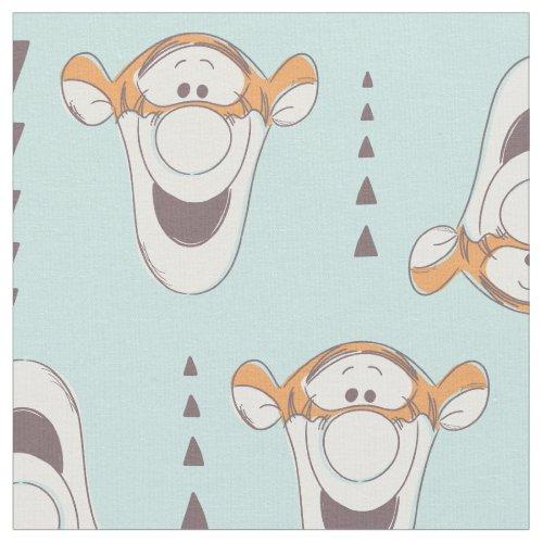 Winnie the Pooh  Tigger Triangle Pastel Pattern Fabric