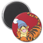 Winnie The Pooh Tigger with hat 2 Inch Round Magnet
