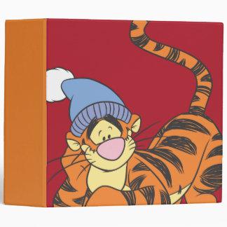 Winnie The Pooh Tigger with hat Vinyl Binder