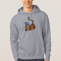 Winnie The Pooh Tigger with hat Hoodie