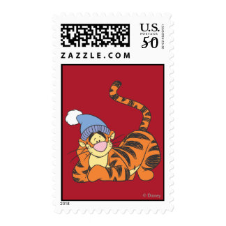 Winnie The Pooh Tigger with hat Postage