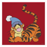 Winnie The Pooh Tigger with hat Poster