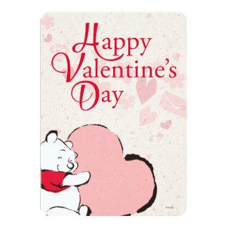 Winnie The Pooh Valentine Card