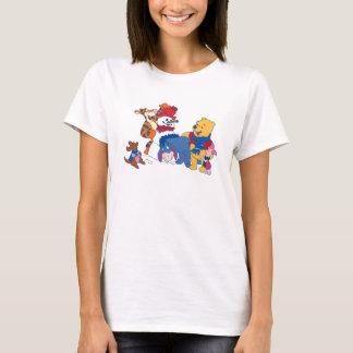 Winnie the Pooh y amigos Playera