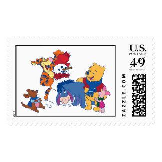 Winnie the Pooh y amigos Sellos Postales