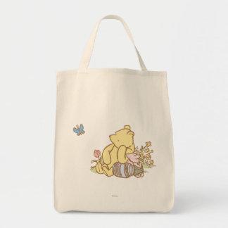 Winnie the Pooh y cochinillo clásicos 1 Bolsa Tela Para La Compra