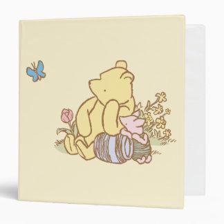 """Winnie the Pooh y cochinillo clásicos 1 Carpeta 1 1/2"""""""