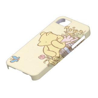 Winnie the Pooh y cochinillo clásicos 1 iPhone 5 Case-Mate Cárcasas