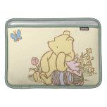 Winnie the Pooh y cochinillo clásicos 1 Funda MacBook