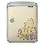 Winnie the Pooh y cochinillo clásicos 1 Funda Para iPads