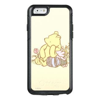 Winnie the Pooh y cochinillo clásicos 1 Funda Otterbox Para iPhone 6/6s
