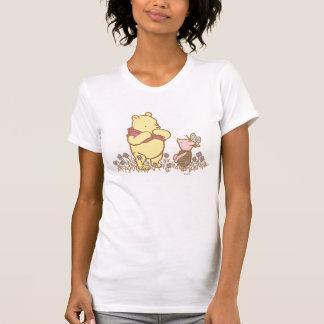 Winnie the Pooh y cochinillo clásicos 3 Polera