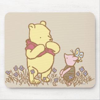 Winnie the Pooh y cochinillo clásicos 3 Alfombrillas De Ratón