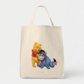 Winnie the Pooh y Eeyore Bolsa Tela Para La Compra