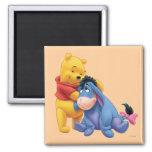 Winnie the Pooh y Eeyore Imanes De Nevera