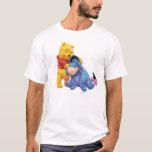 Winnie the Pooh y Eeyore Playera