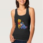 Winnie the Pooh y Eeyore Playera Con Tirantes
