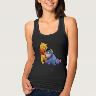 Winnie the Pooh y Eeyore Polera