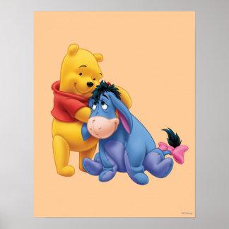 Winnie the Pooh y Eeyore Póster