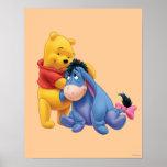 Winnie the Pooh y Eeyore Posters