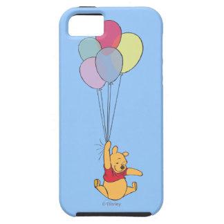 Winnie the Pooh y globos iPhone 5 Case-Mate Cobertura