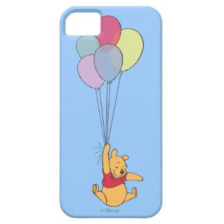 Winnie the Pooh y globos Funda Para iPhone SE/5/5s