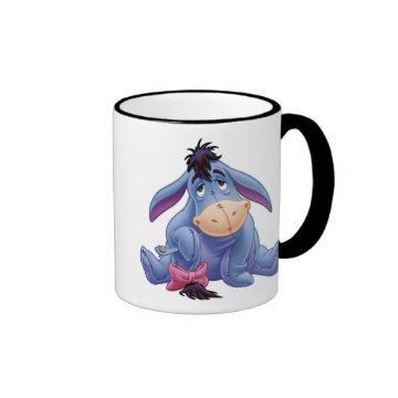 Winnie The Pooh's Eeyore Holding Tail Mug at Zazzle