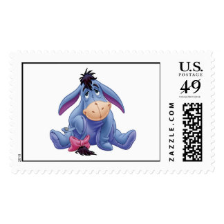 Winnie The Pooh's Eeyore Holding Tail Postage