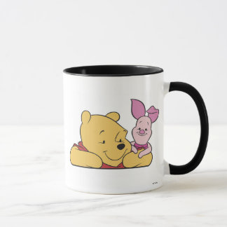 Winnie The Pooh's Pooh and Piglet together Mug