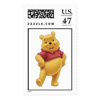 Winnie The Pooh's Pooh Walking Merrily Postage