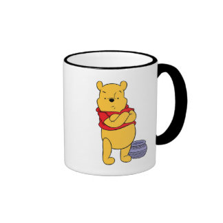 Winnie The Pooh's Pooh With Empty Honeypot Ringer Coffee Mug
